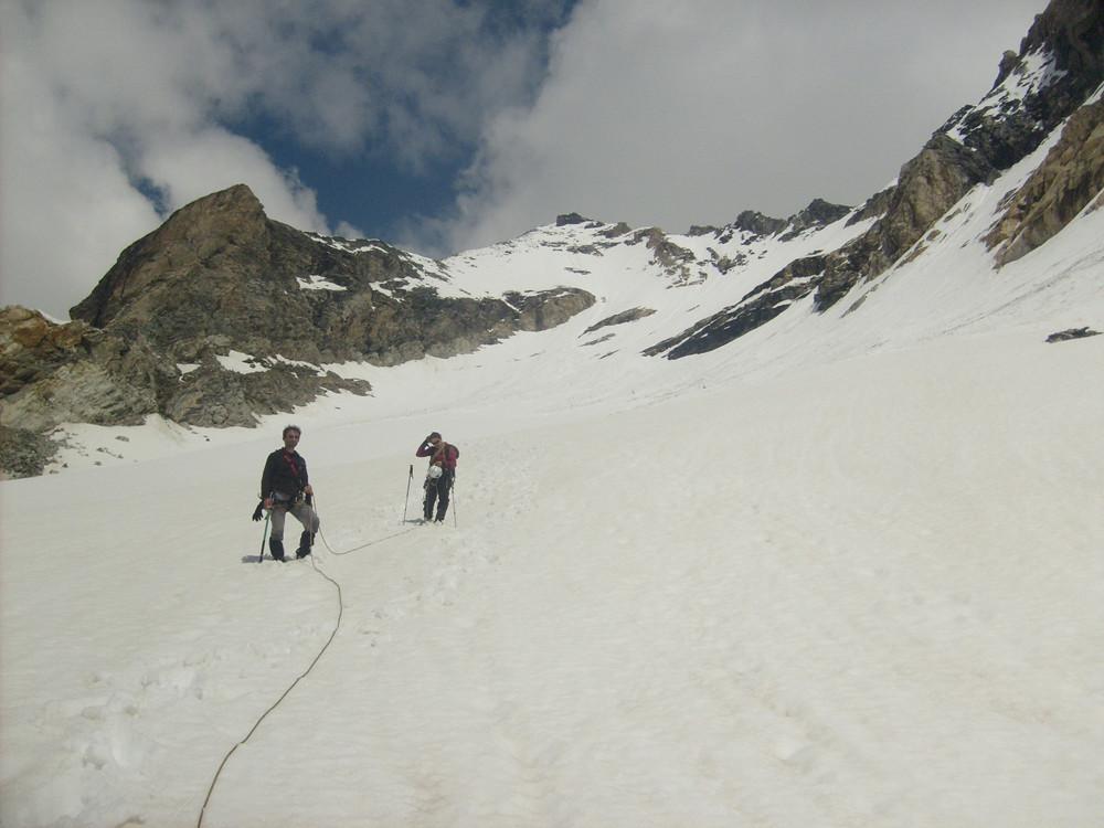 Le glacier du Santel