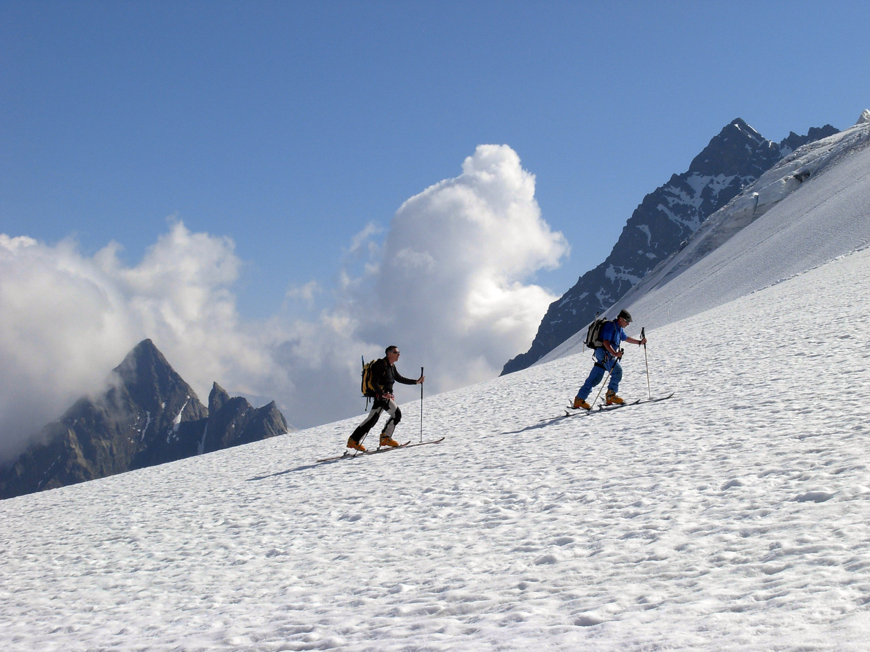 Risalendo lo Steingletscher