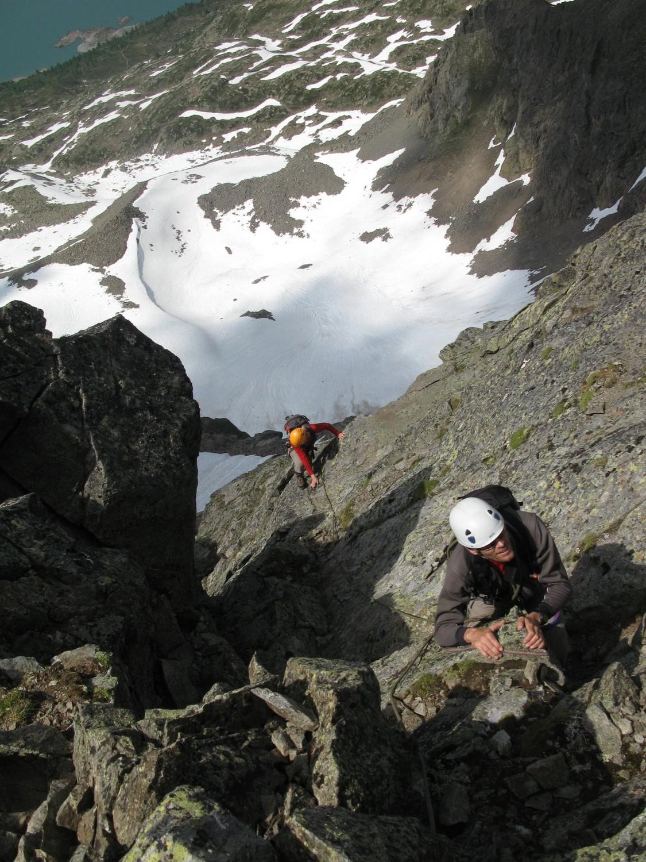 juste avant la sommet