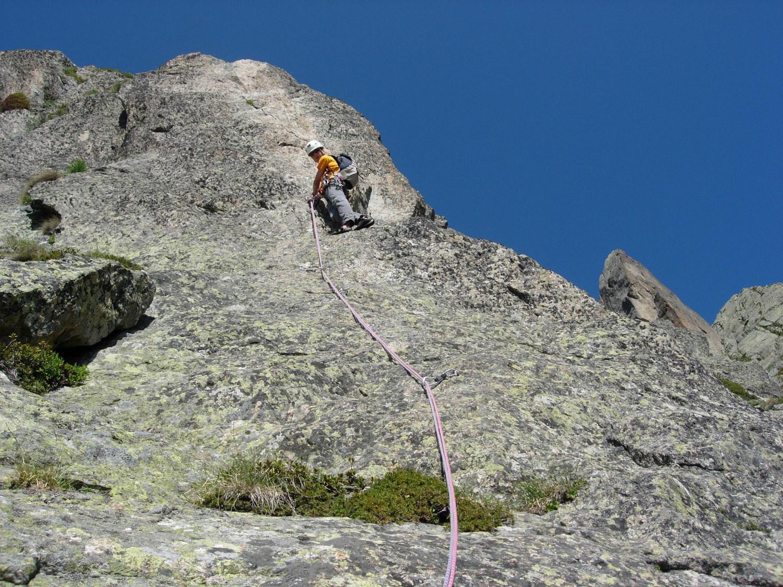 il y a des traces de passage sur le rocher, ou je rêve?