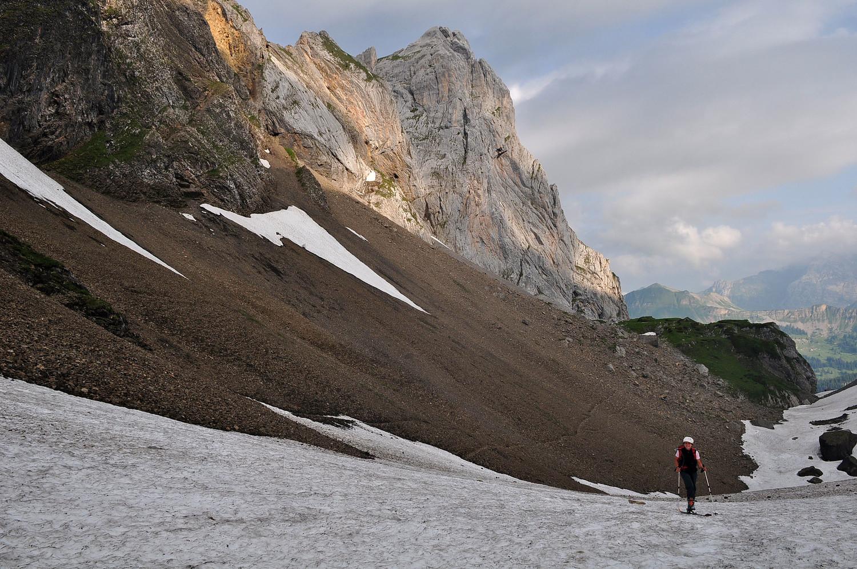 Ski en juillet et dans les Aravis ....