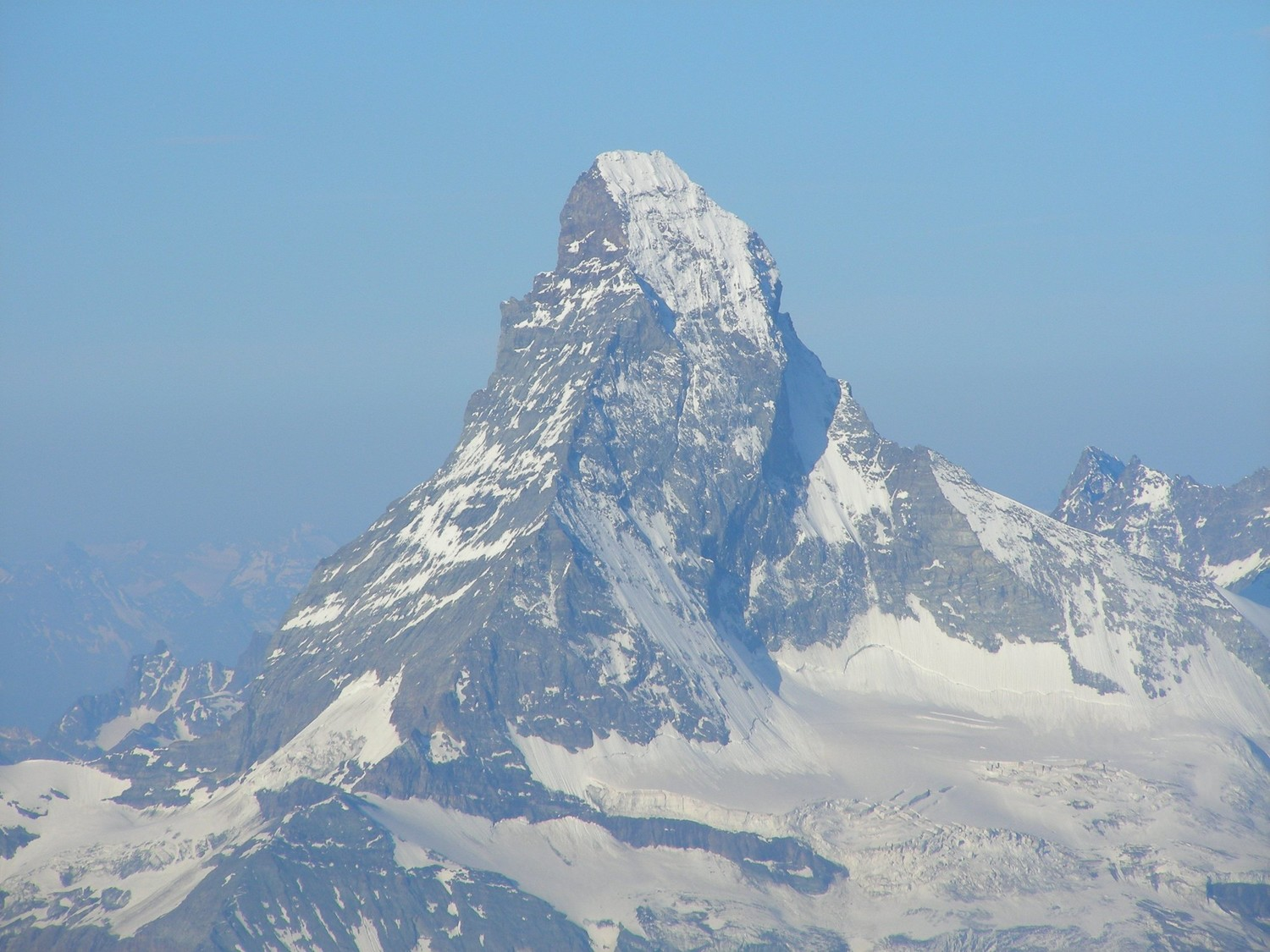 The Matterhorn seen from the Dirrujoch