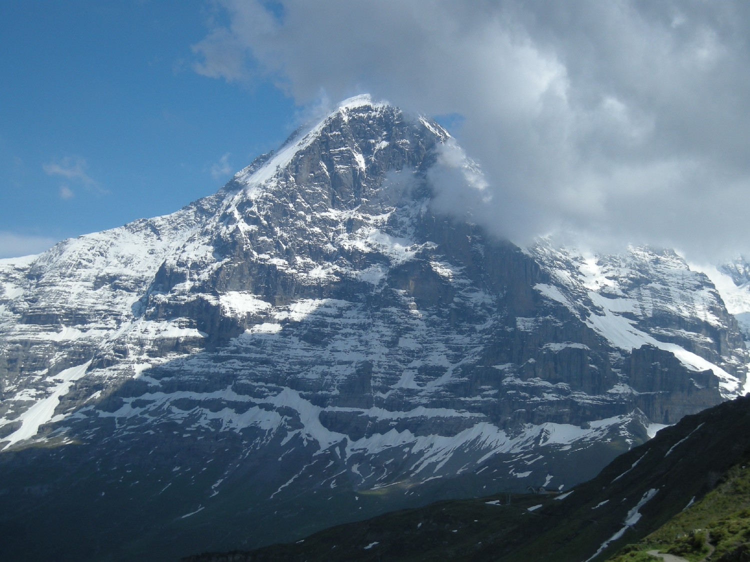 Eiger n face heckmair route camptocamp infos reheart Images