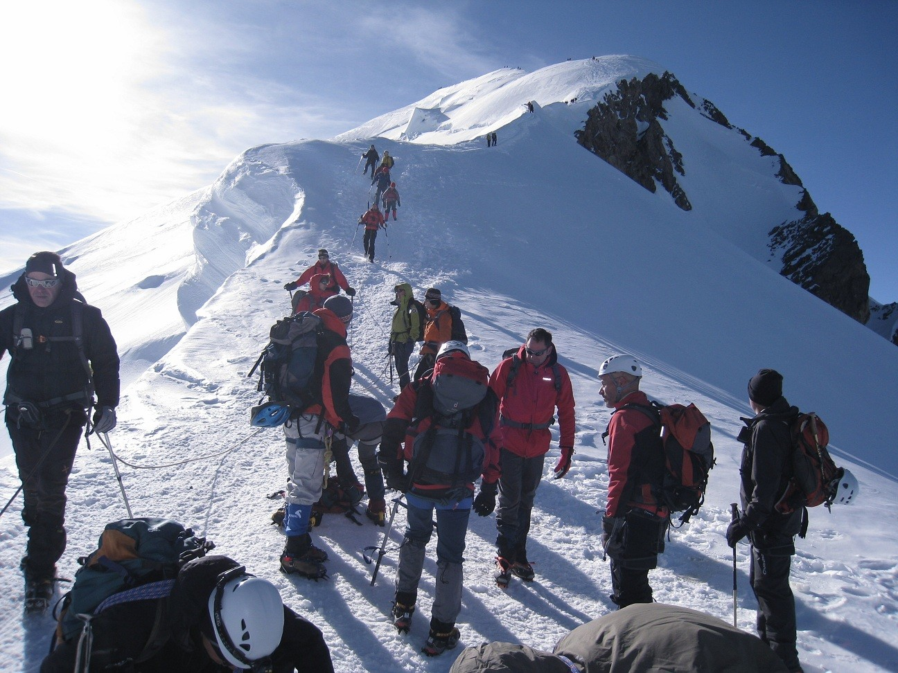Mt Blanc - chasser&croiser au Valot