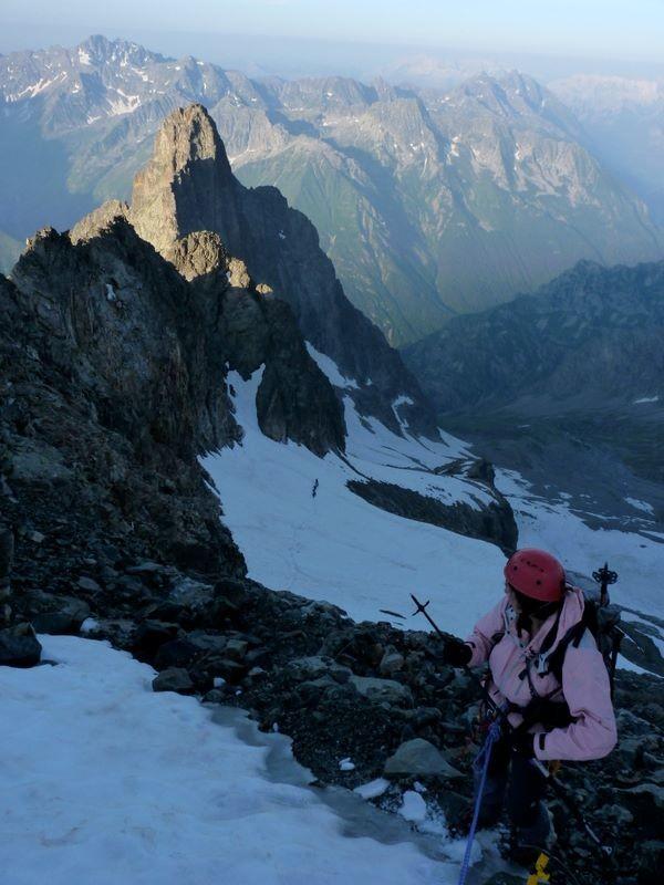 Première partie de l'itinéraire de la montée à la Cime du Vallon
