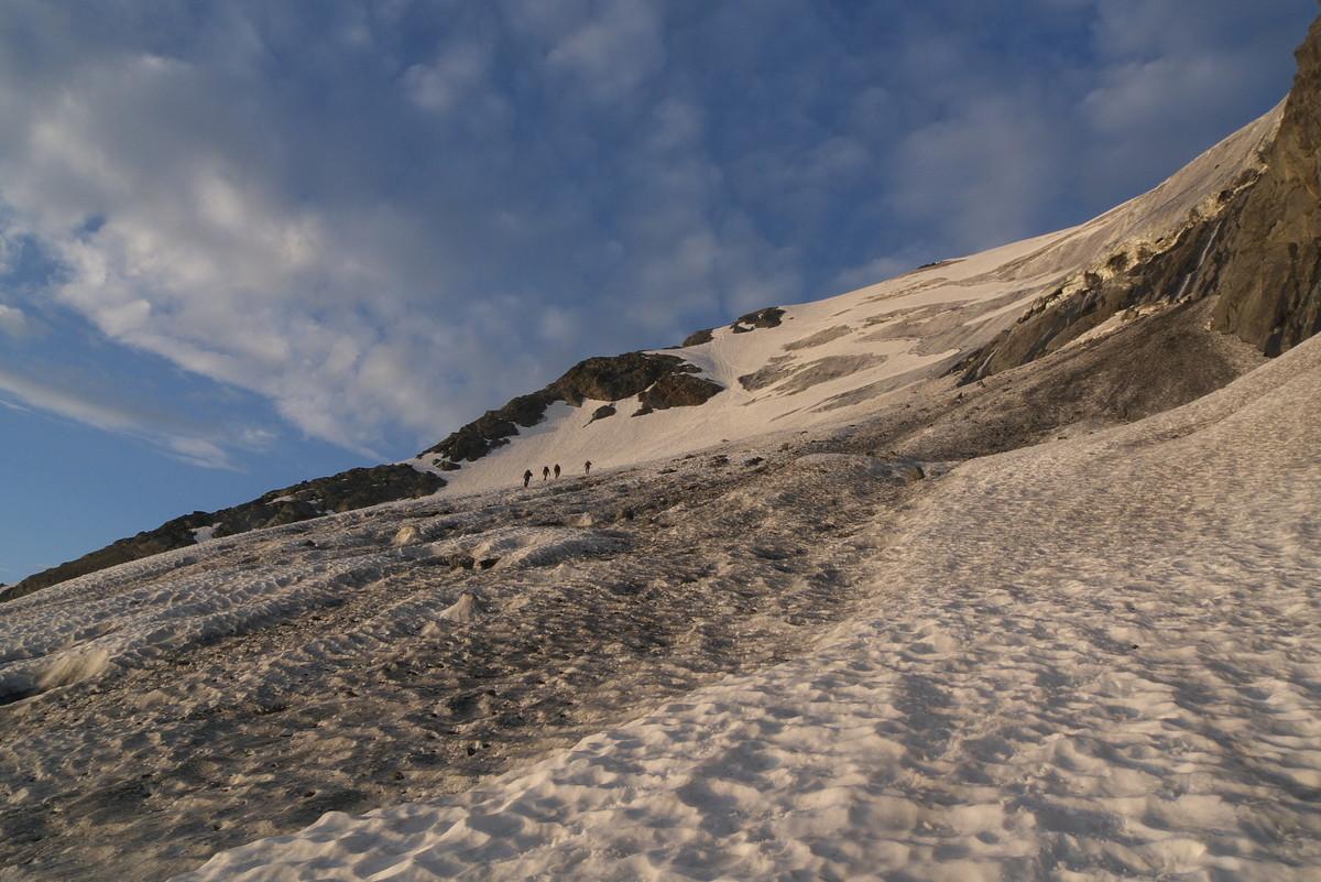 Bas du glacier du Troquairou