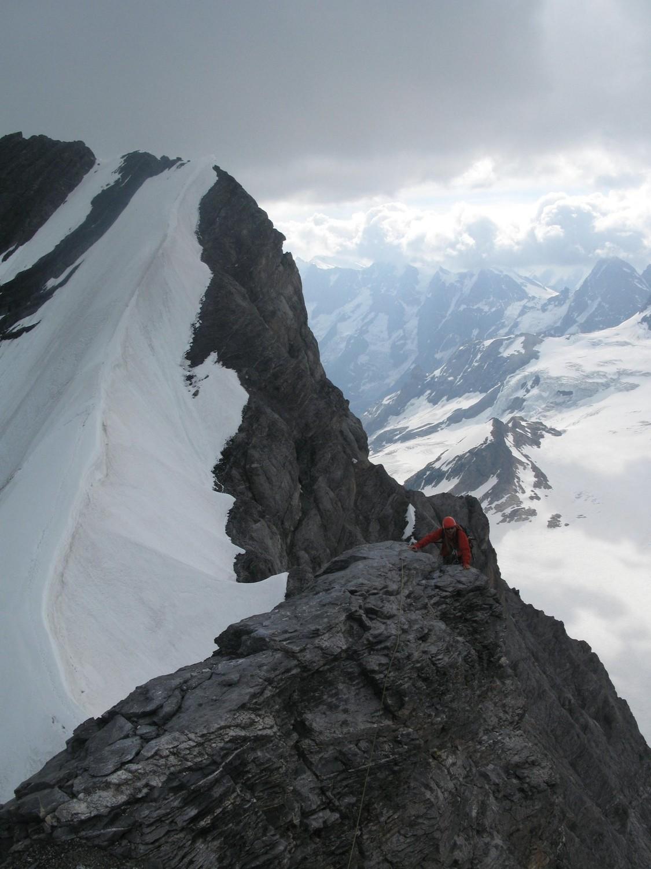 après la glace, le rocher