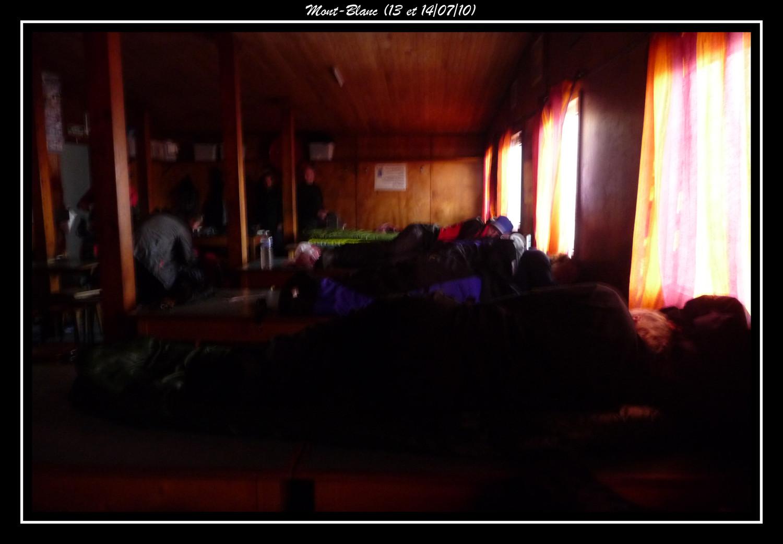 La nuit au Refuge du Goûter