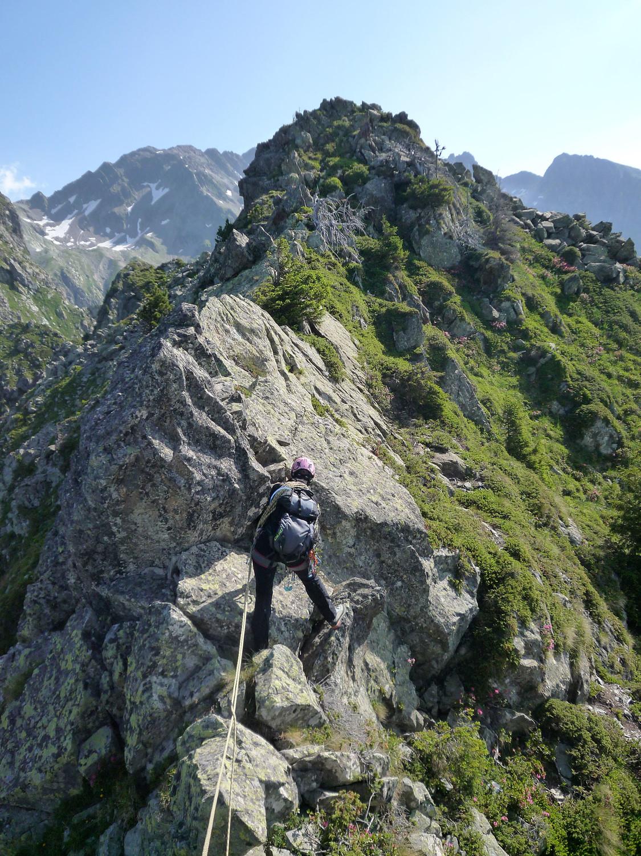 """Rocher haute montagne""... qu'il disait le topo..."