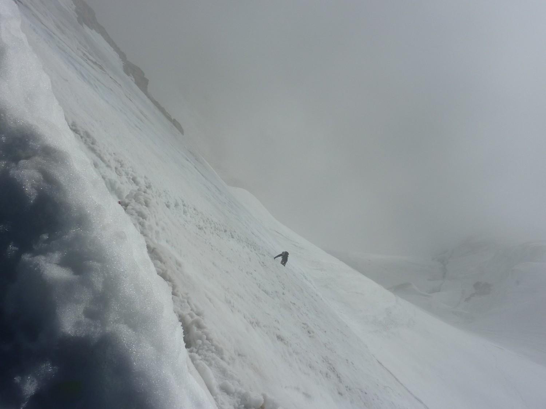 Jungfrau - Accès au Rottalsattel