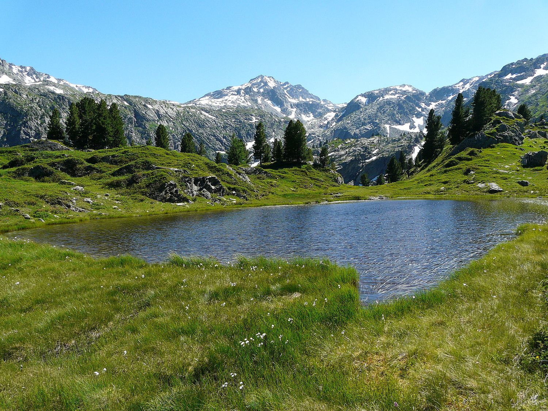 Lac (sans nom) de la combe de Thuilette (Val d'Aoste)