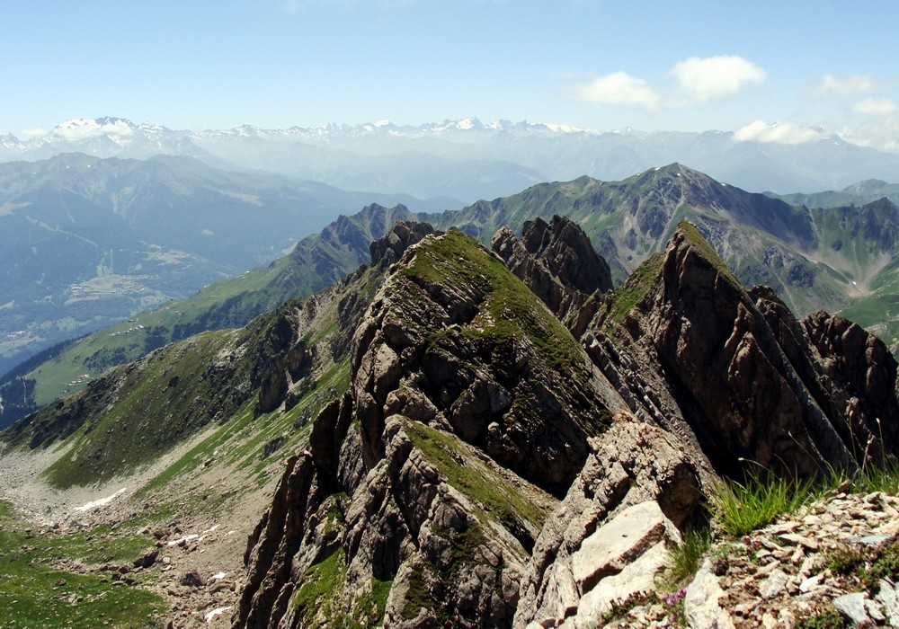 La Grande Parei du sommet