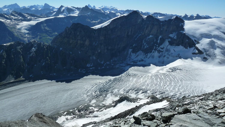 Le glacier de Corbassière