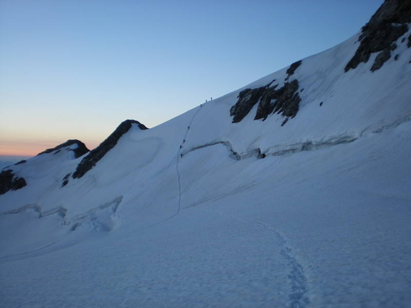 La Meije - Pic Oriental - Passage de la rimaye