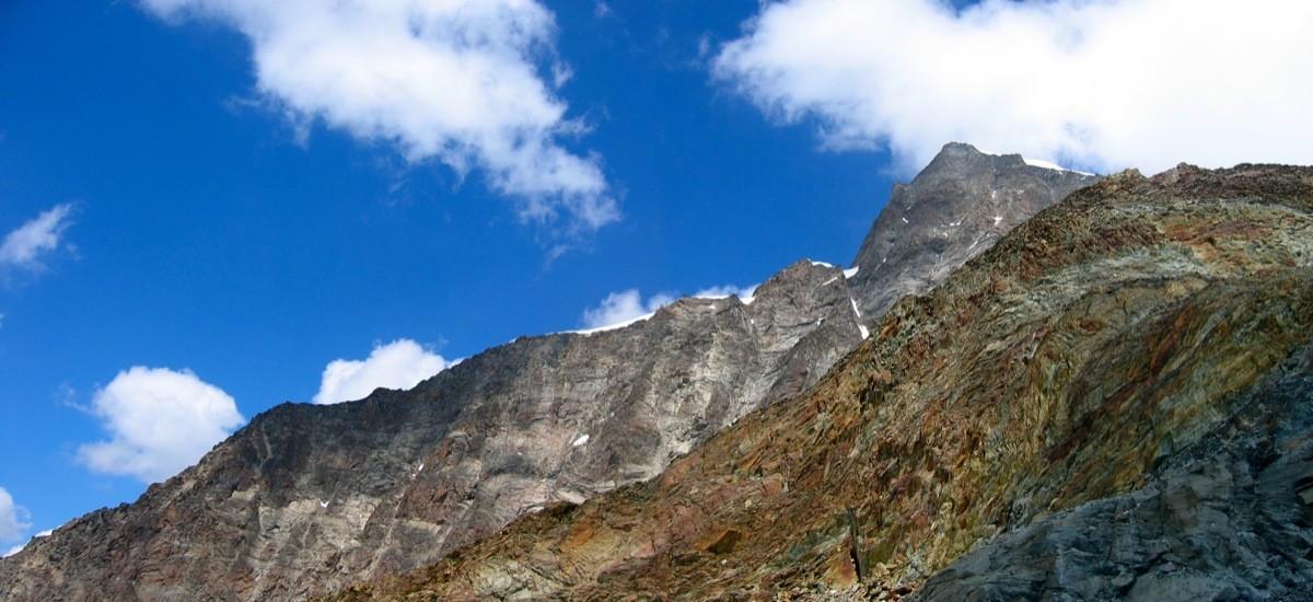La Rotgrat vue de la descente de l'Alphubel