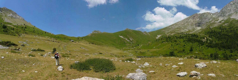 En direction du Col de l'Aup