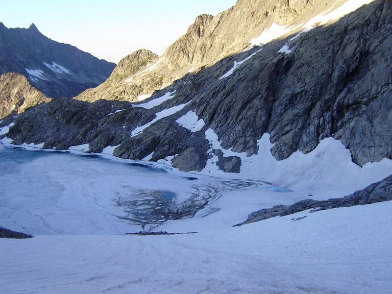 Lac Tourrat (passage rive droite)