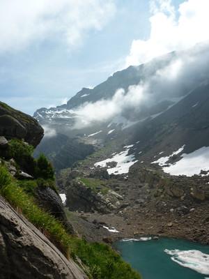 En direction du glacier du Folly