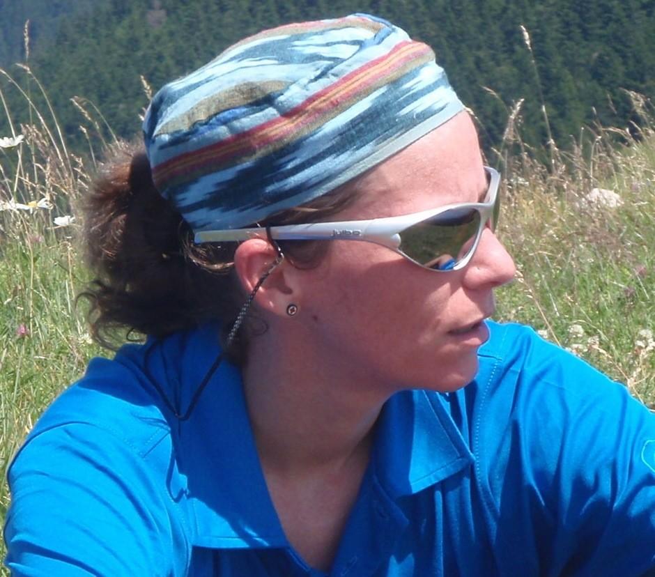 Katia de Namur, Belgique, apprentie grimpeuse