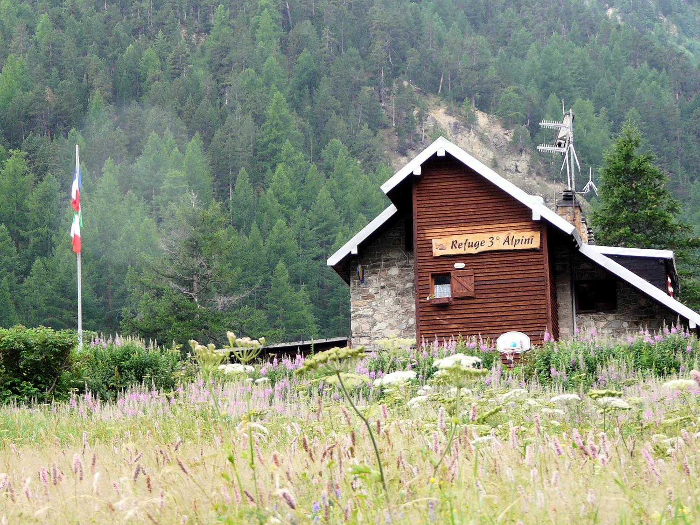 Refuge Tre Alpini (vallée Etroite)