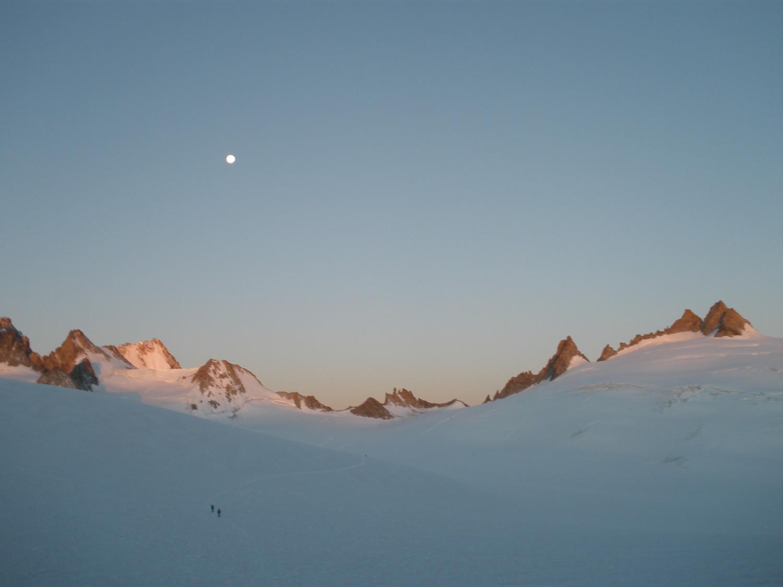 Glacier du trient - de la gde fourche aux aig. du tour