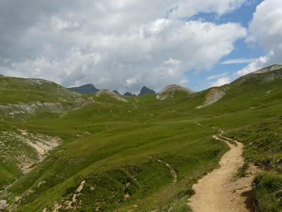 Le col de la Vallée Etroiteklzzwxh:0000 au bout du chemin.