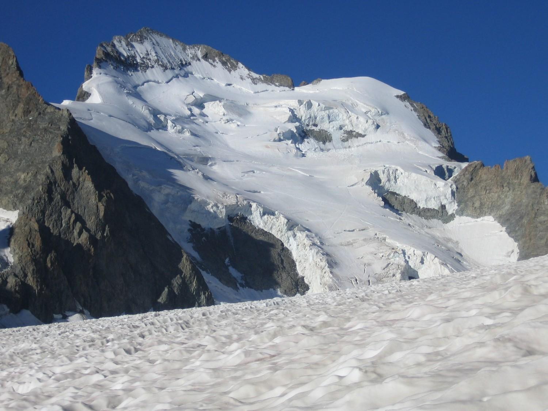 face nord de la Barre et du Dôme