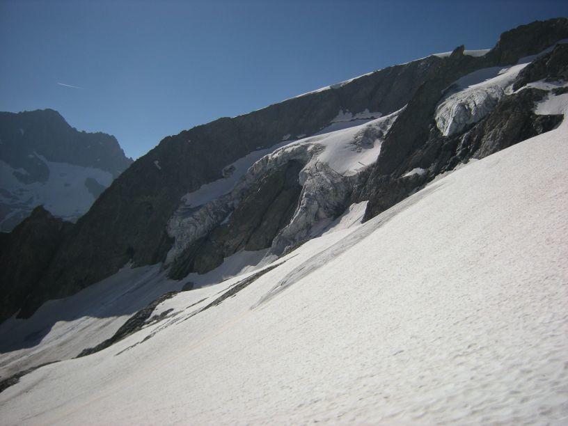Vue du glacier du Says