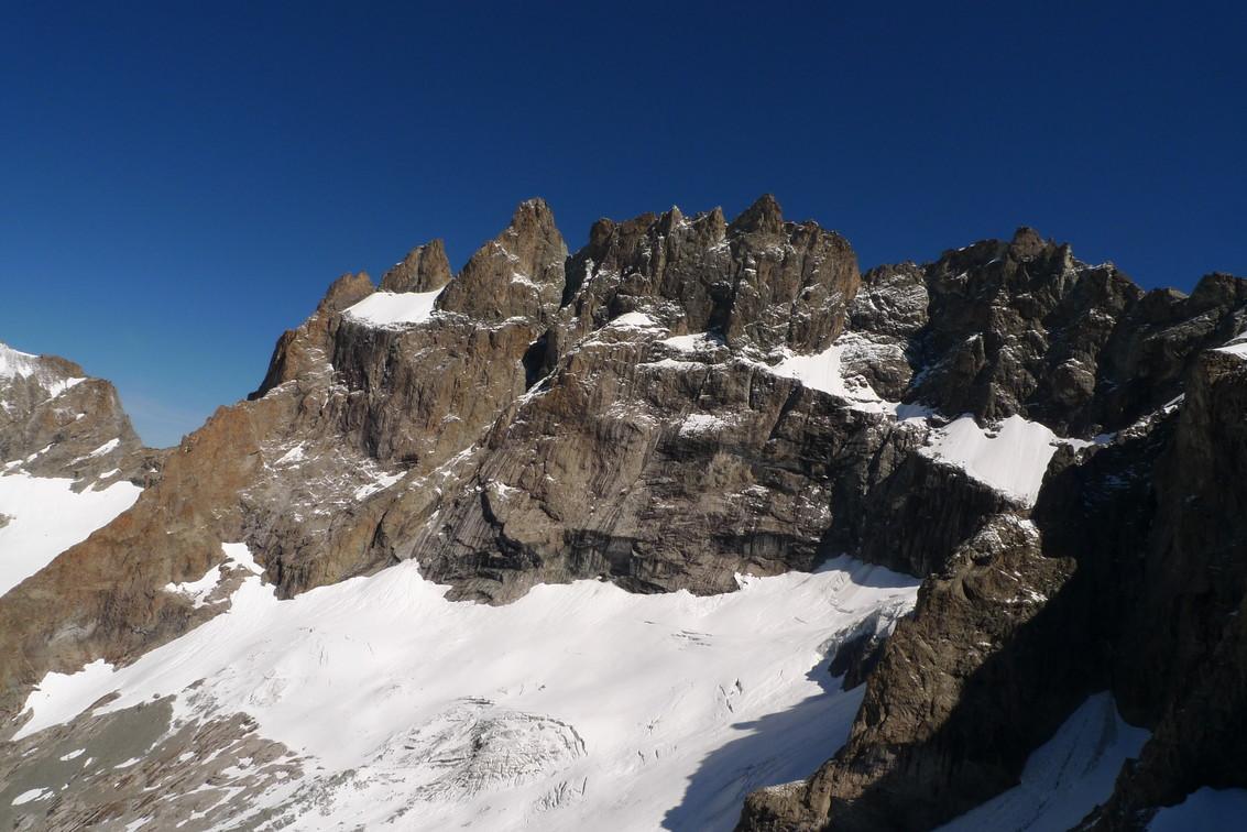 La Meije vue du sommet