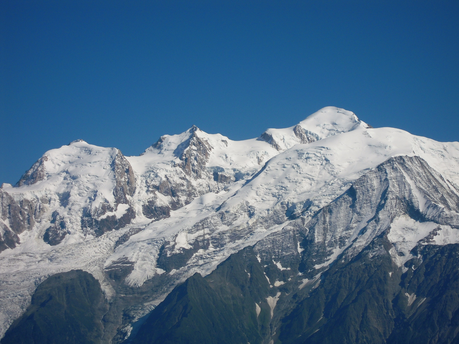 Mont blanc traverse of the 3 monts for Carrelage mont blanc sallanches
