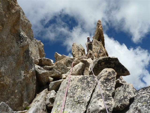 Aiguille Dibona - le sommet