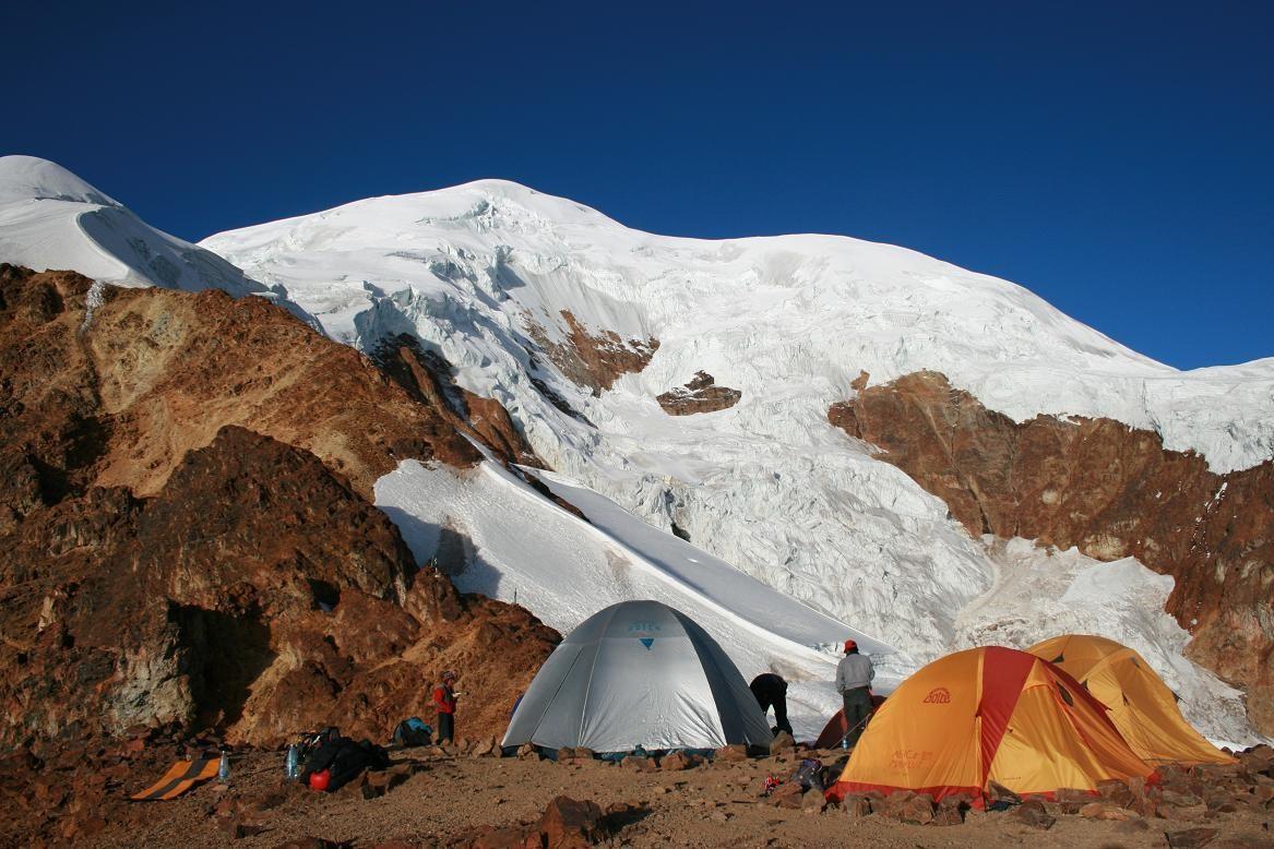 Camp d'altitude 5550m