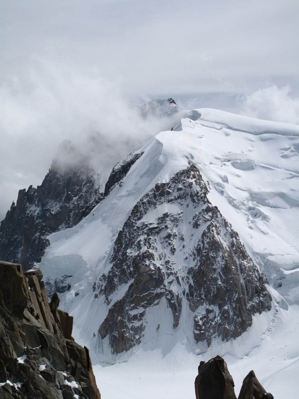 Triangle Tacul : depuis Aiguille du Midi