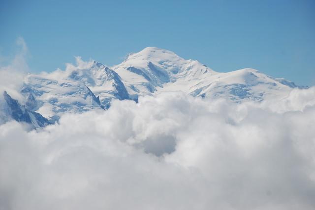 Le Mont-Blanc depuis le Buet