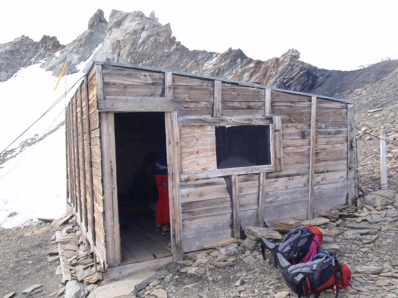 Cabane à 3200m