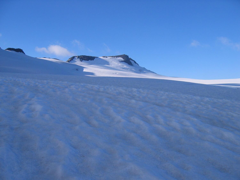 Grand Plateau sous le sommet du Ruitor