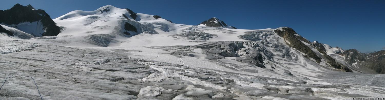 Wildspitze, versant W