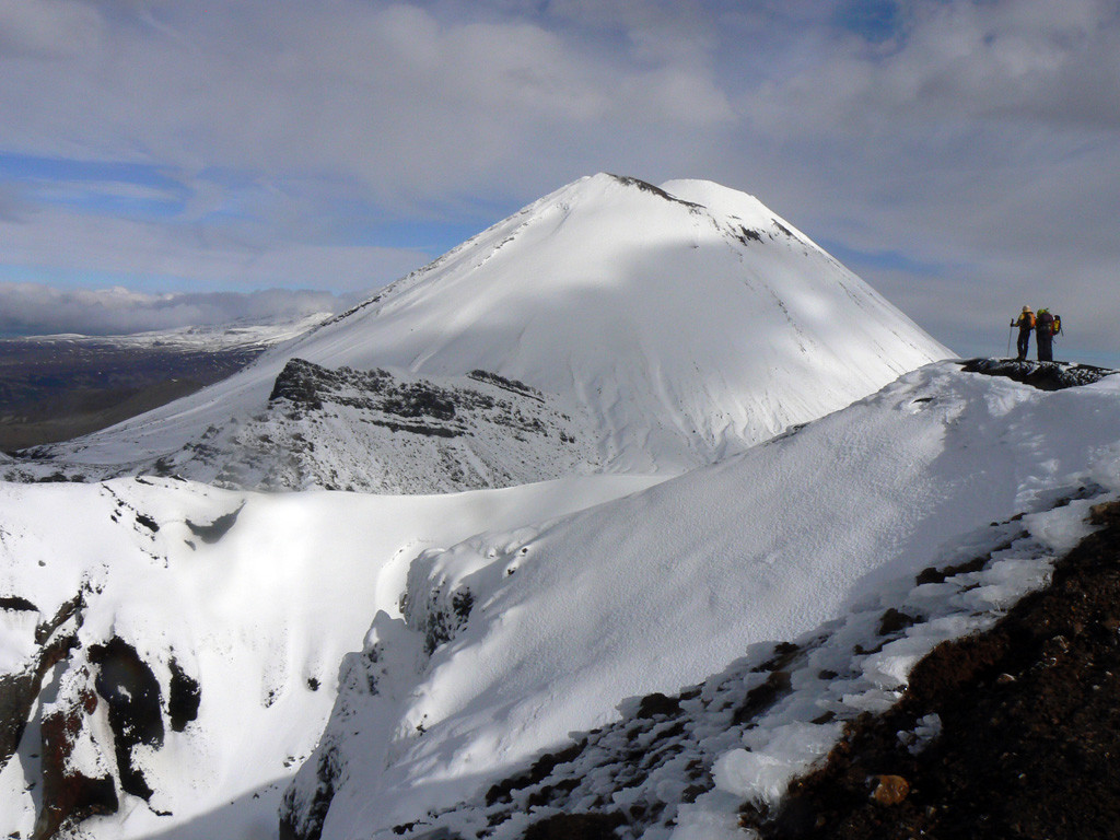 le Ngauruhoe, depuis Red Crater