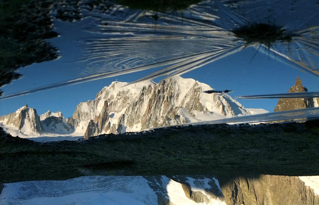Mont Blanc du matin