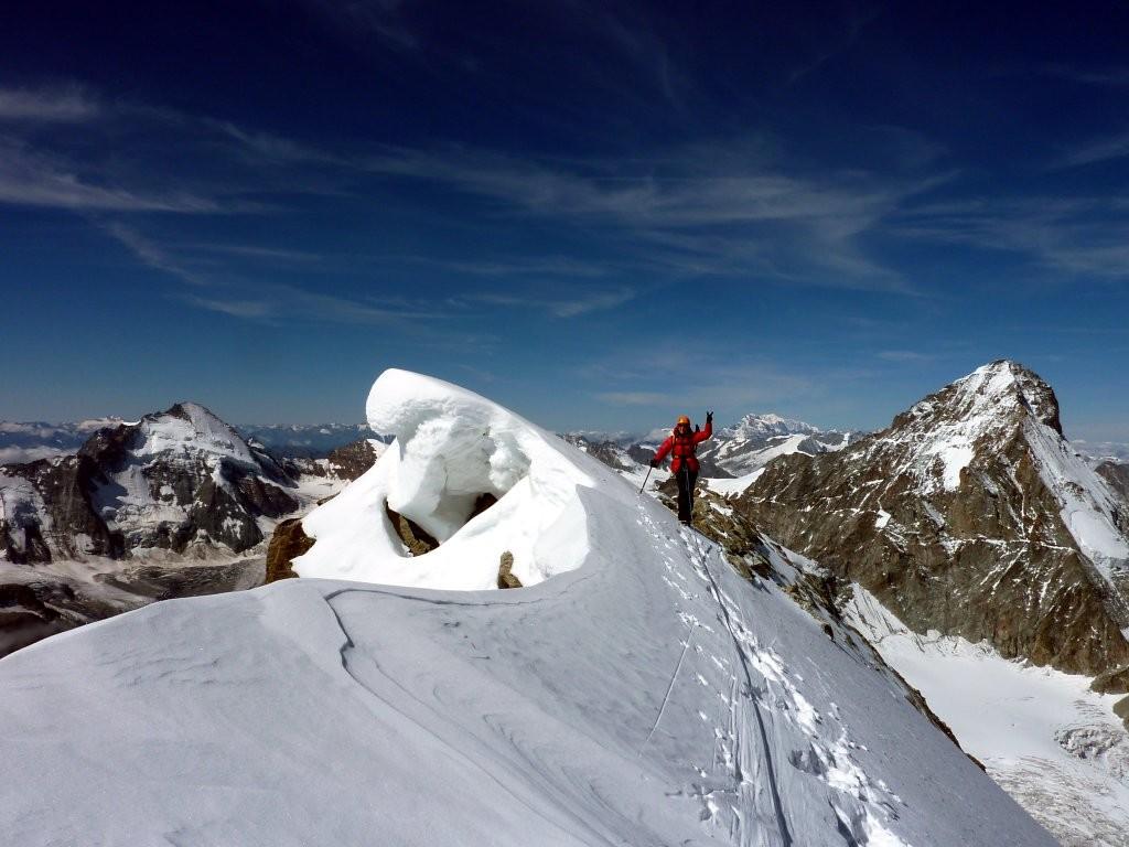 Olesya au sommet