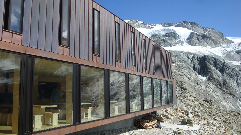 Nouvelle cabane de Moiry: panoramique !
