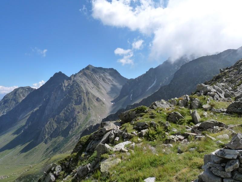 Col du Villonet depuis le Col du Merlet