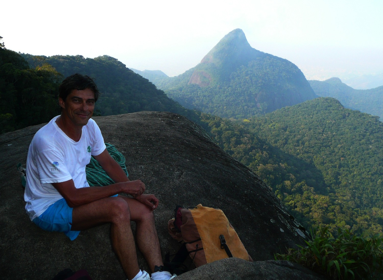 Andre Ilha au pied du Bico do Papagaio