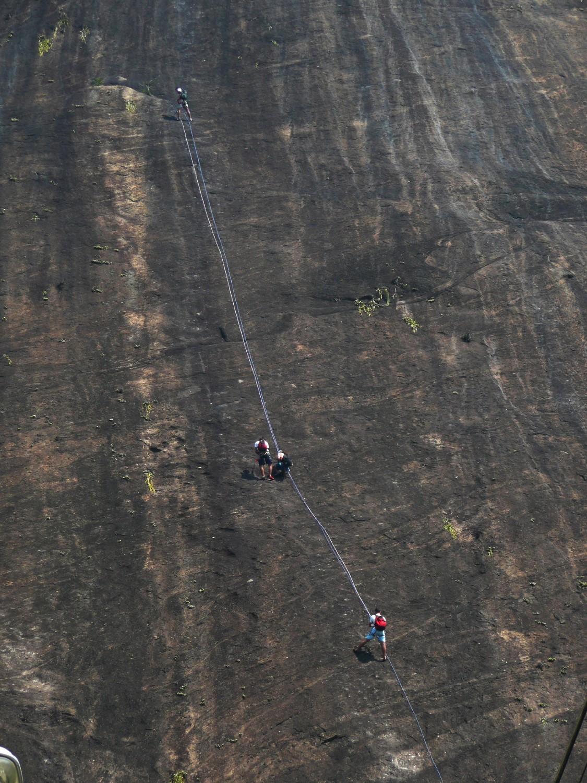 Escalade au Morro da Babilonia (Rio)