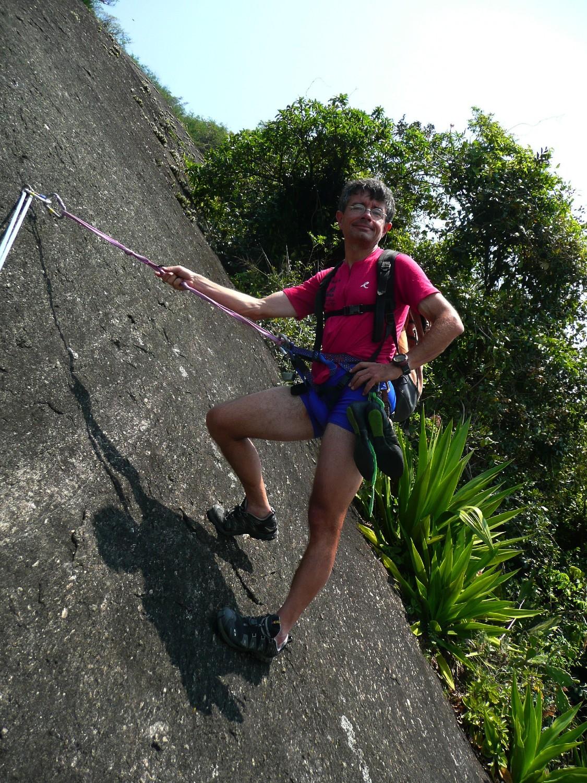 L'ambiance particulière de la grimpe carioca