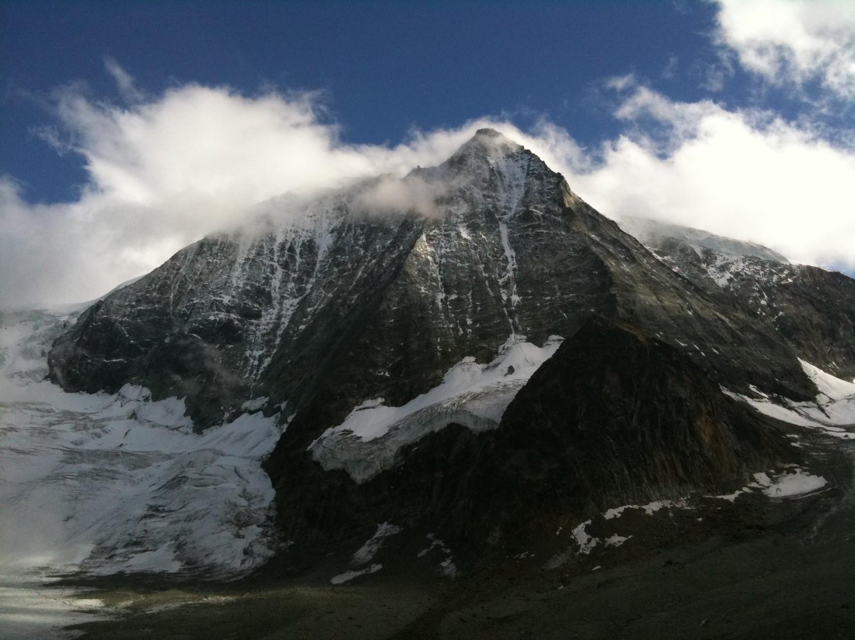 Mont Blanc de Cheilon la veille