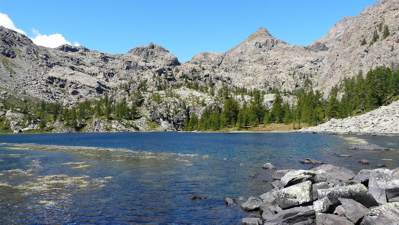 Lac Cornu parc Avic (val d'Aoste)