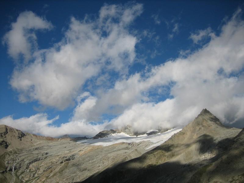 Bas du glacier du Mulinet
