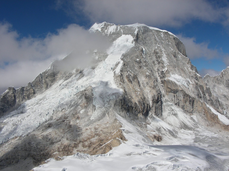 Le glacier NE du Ranrapalca