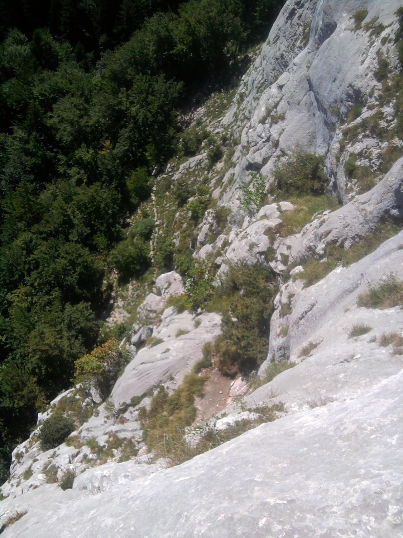 Vue de la terrasse du relais R3 deuis R4
